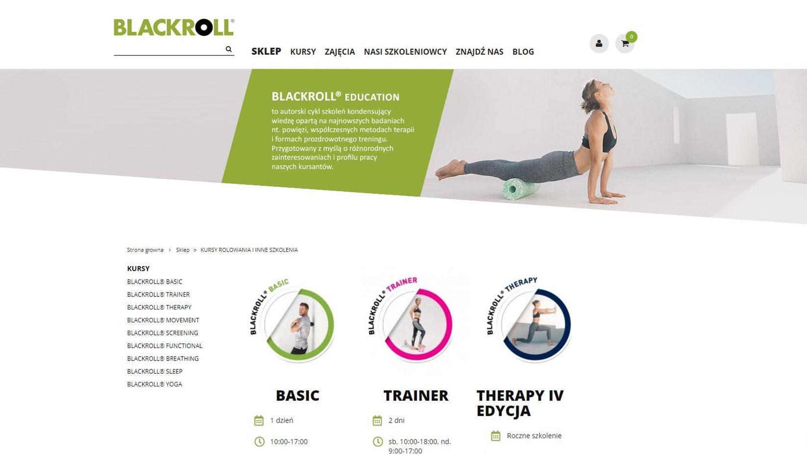Blackroll ecommerce prestashop