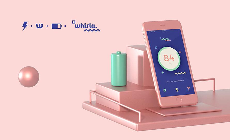 ahray klient whirla prototype BLE CMS App Design
